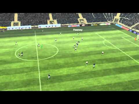 Millwall vs Bolton highlight - Trotter goal scored during Millwall vs Bolton after 59 minutes on Football Manager 2013.