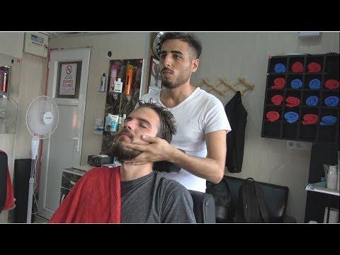 ASMR Turkish Barber Face,Head and Body Massage 136 👍💈💆♂️💈