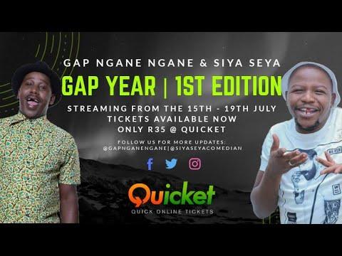 GAP YEAR WITH SIYA AND GAP NGANE NGANE