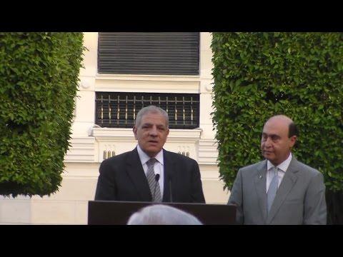 محلب : قناة السويس وحدت شركات عالمية متنافسة تحت علم مصر