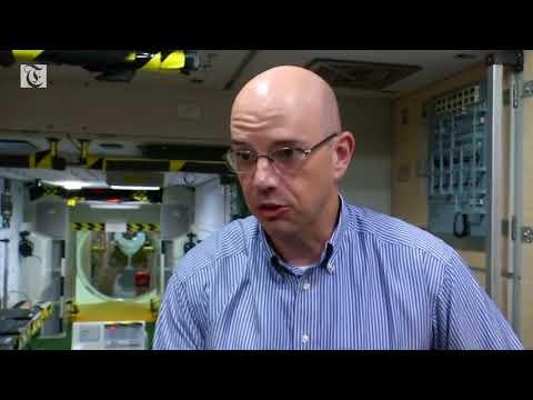 A dream come true for ISS bound astronaut