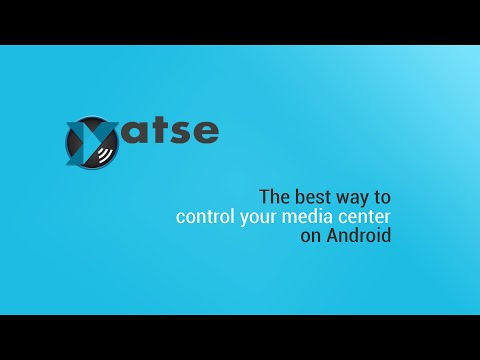 Video of Yatse, the XBMC Remote