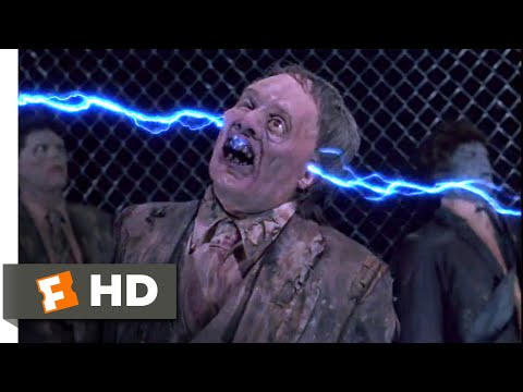 Return Of The Living Dead Part II (1988) - Electric Zombies Scene (10/10) | Movieclips