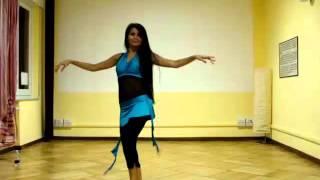 Danza del ventre online - sequenza livello intermedio!