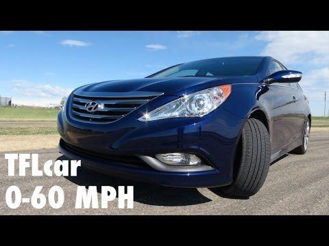 2014 Hyundai Sonata Turbo 0-60 MPH & Hot Lap Review