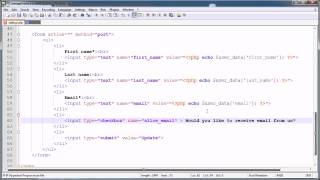 PHP Tutorials: Register&Login (Part 22): Mass Email Users (Part 1)
