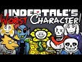 Who Is The Worst Character In UNDERTALE? Undertale Theory | UNDERLAB