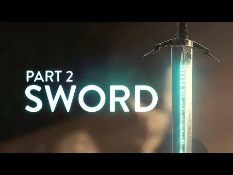 Blender 2.8 Beginner Tutorial - Part 2: Sword (100% FREE)