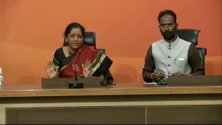 Press Conference by Smt Nirmala Sitharaman on Nirav Modi fraud case - 17.02.2018