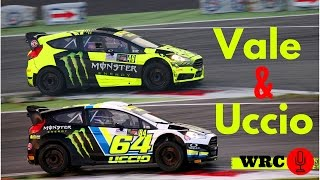 Video Valentino Rossi & Uccio - Monza Rally Show 2015 - WRC Sound! MP3, 3GP, MP4, WEBM, AVI, FLV Juni 2018