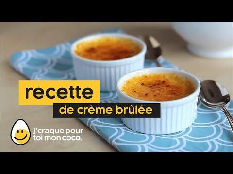 Comment faire une crème brûlée.