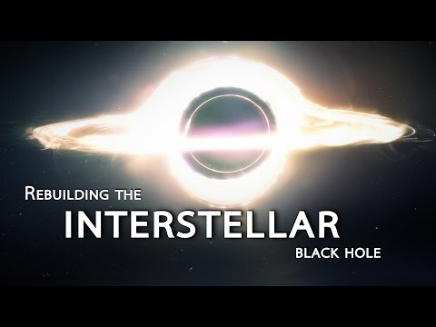 Shanks FX rebuilt the CGI INTERSTELLAR black hole with all InCamera