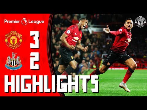 Highlights | Manchester United 3-2 Newcastle | Mata, Martial & Alexis Seal Comeback Win for the Reds