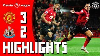 Download Video Highlights | Manchester United 3-2 Newcastle | Mata, Martial & Alexis Seal Comeback Win for the Reds MP3 3GP MP4