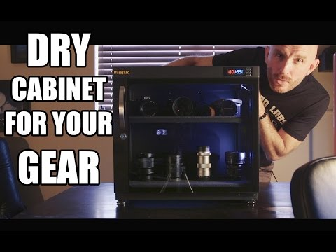 High Humidity? Check out this Dry Cabinet for your Camera Gear! The Ruggard 80L.