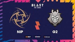 NiP vs G2, cobblestone, BLAST Pro Series: Copenhagen 2017