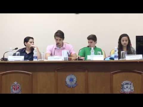 1ª Sessão Ordinária - 8ª Legislatura - Parlamento Jovem - 05/04/2017