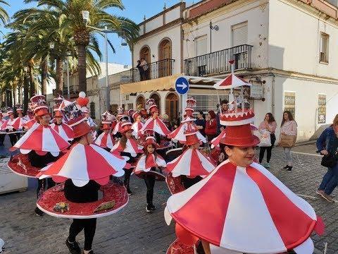 Lunes de disfraces. Carnaval de Isla Cristina 2020