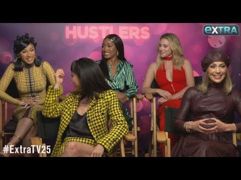 'Hustlers' Stars Dish on New Movie, Plus: J.Lo Teases A-Rod Wedding Details