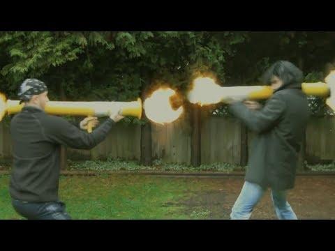 NERF Bazooka Deathmatch!