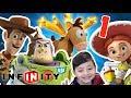 Toy Story En El Espacio Woody Y Buzz Lightyear Disney I