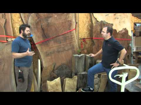 Nick Offerman's (Ron Swanson) California Workshop