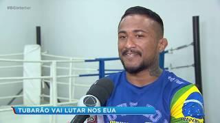 O lutador Joanderson Tubarão vai representar o Brasil nos EUA