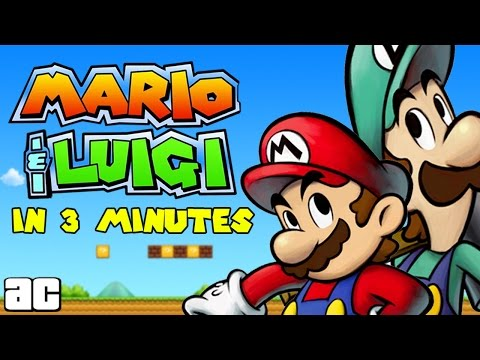 The Mario & Luigi Storyline In 3 Minutes and MORE! |  Videogames in 3 @ArcadeCloud