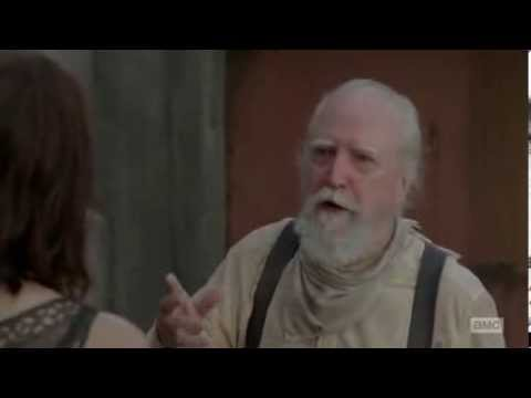 Copy of The Walking Dead Hershel You step outside
