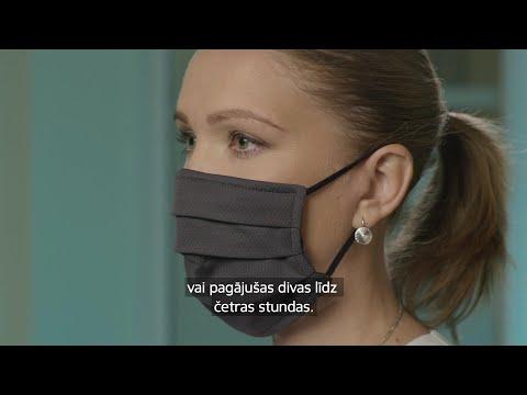Kā pareizi lietot sejas masku?