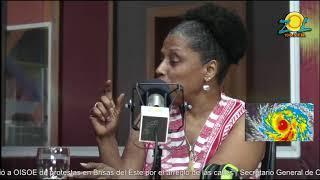 Virginia Saiz comenta como les hablamos a los niños sobres los fenómenos atmosféricos
