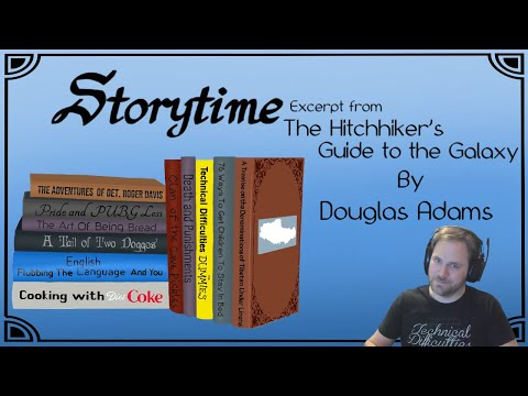 Chapter 23 from The Hitchhiker's Guide to the Galaxy by Douglas Adams - Recorded March 12, 2019