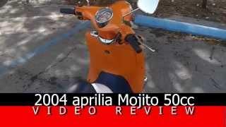 5. aprilia Mojito 50cc Review
