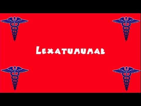 Pronounce Medical Words ― Lexatumumab