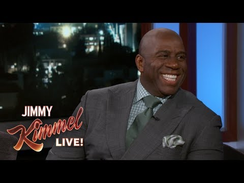 Magic Johnson on Signing LeBron James to the Lakers