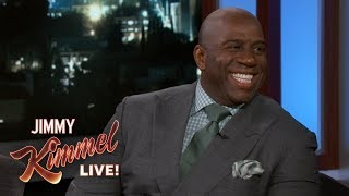 Video Magic Johnson on Signing LeBron James to the Lakers MP3, 3GP, MP4, WEBM, AVI, FLV Oktober 2018