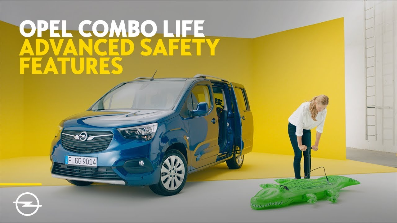 Opel Combo Life: Advanced Safety Features