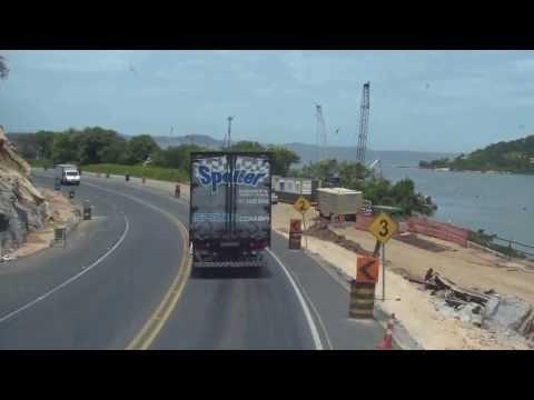 De Capivari de Baixo até Laguna: sexta sem congestionamento na BR101