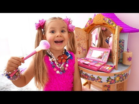 Diana Pretend Play Dress Up  Kids Make Up Toys