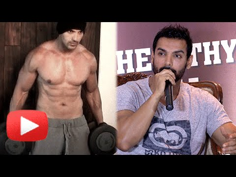 John Abraham REVEALS His Fitness Details