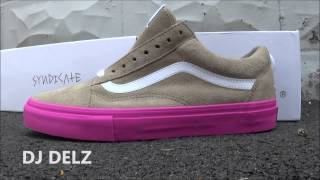 Tyler The Creator Golf Wang Vans Old Skool Pro Sneaker Review + On Foot ! Odd Future !