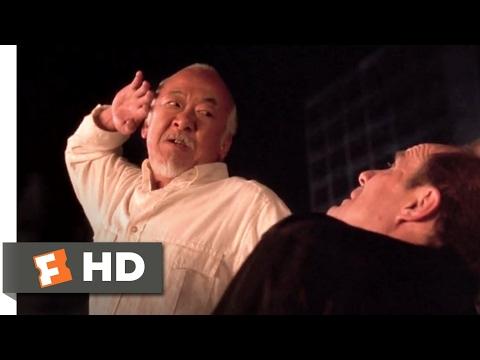 The Next Karate Kid (1994) - Miyagi Finishes Dugan Scene (10/10) | Movieclips