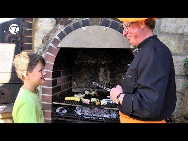 Die Honigbanane   Grillrezept für Kinder    Topfgucker-TV