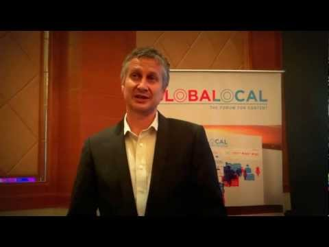 globalocal - Malcolm Neil from Kobo, talks about his experiences at the Globalocal 2013.