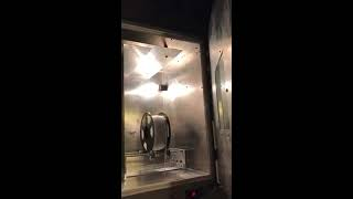 I built this oven from scratch using sheet metal aluminum and a lot of stuff from Home Depot . I got heating element, oven bulb with ...