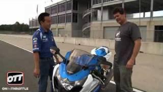 6. 2009 Suzuki GSX-R1000 test ride at Kevin Schwantz School