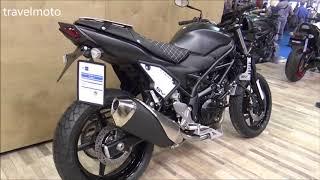 10. The 2018 Suzuki SV650 naked motorcycle