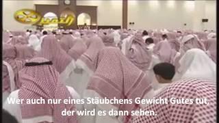 Nasser Al-Qatami Sura Al-Zalzala Deutsch*