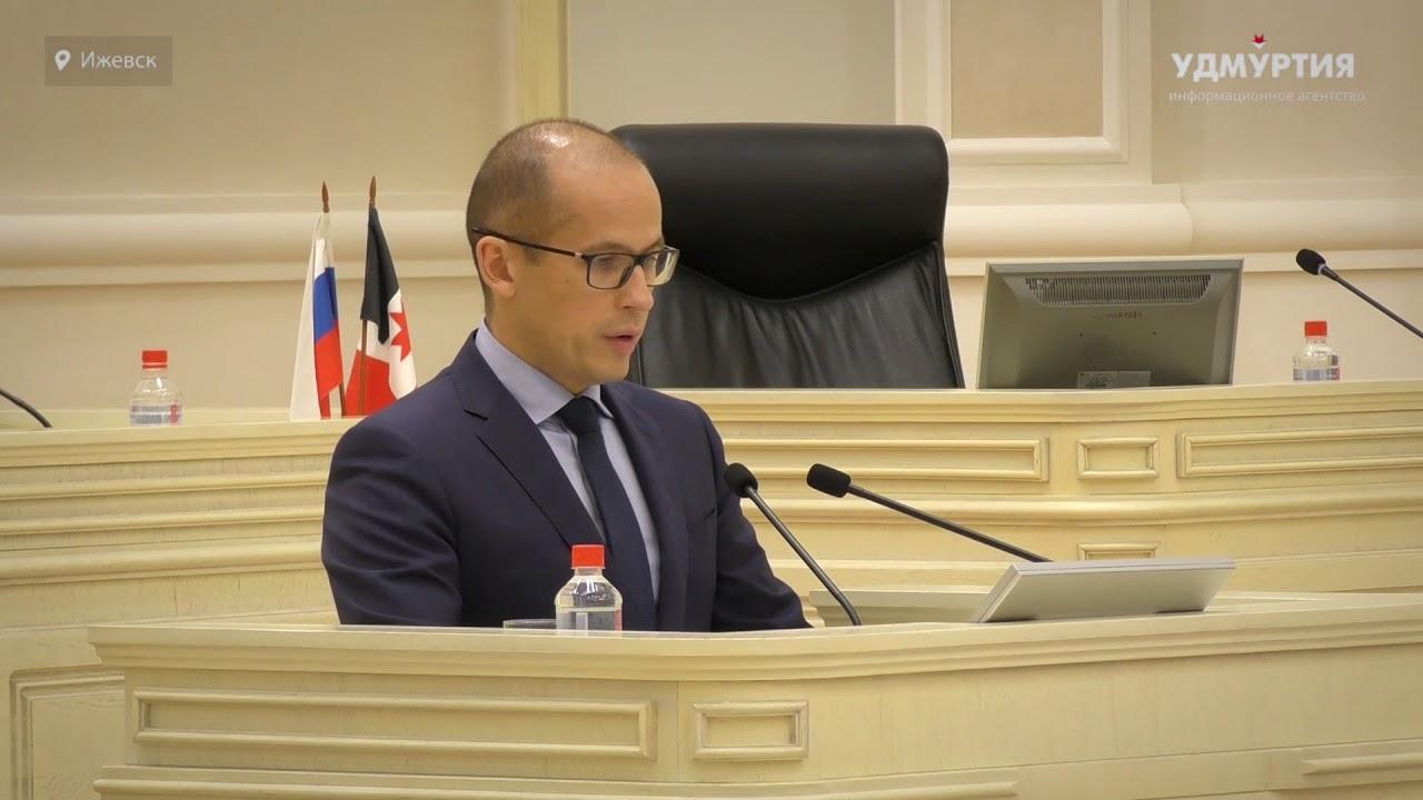 Александр Бречалов представил новую структуру правительства Удмуртии