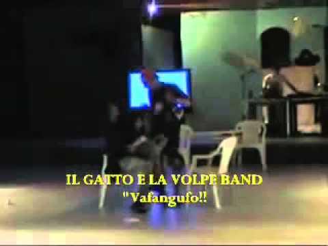 """2005: Il Gatto e la Volpe Band - Sketch """"Vafangufo!"""""""